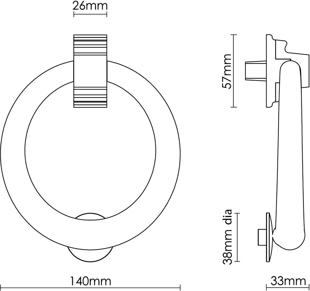 Large Ring Knocker