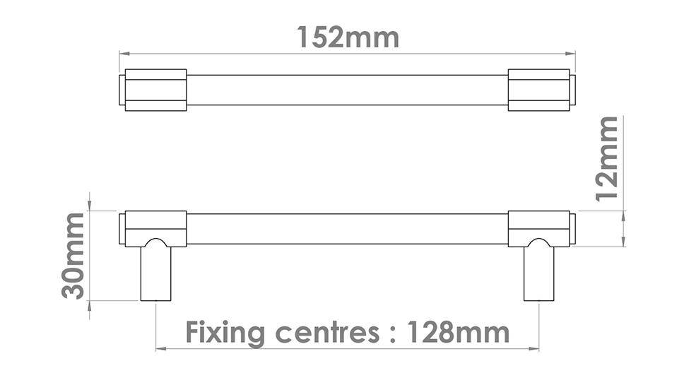 Fusion Cabinet Handle