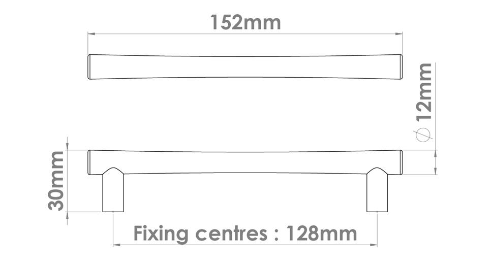 Roka Cabinet Handle