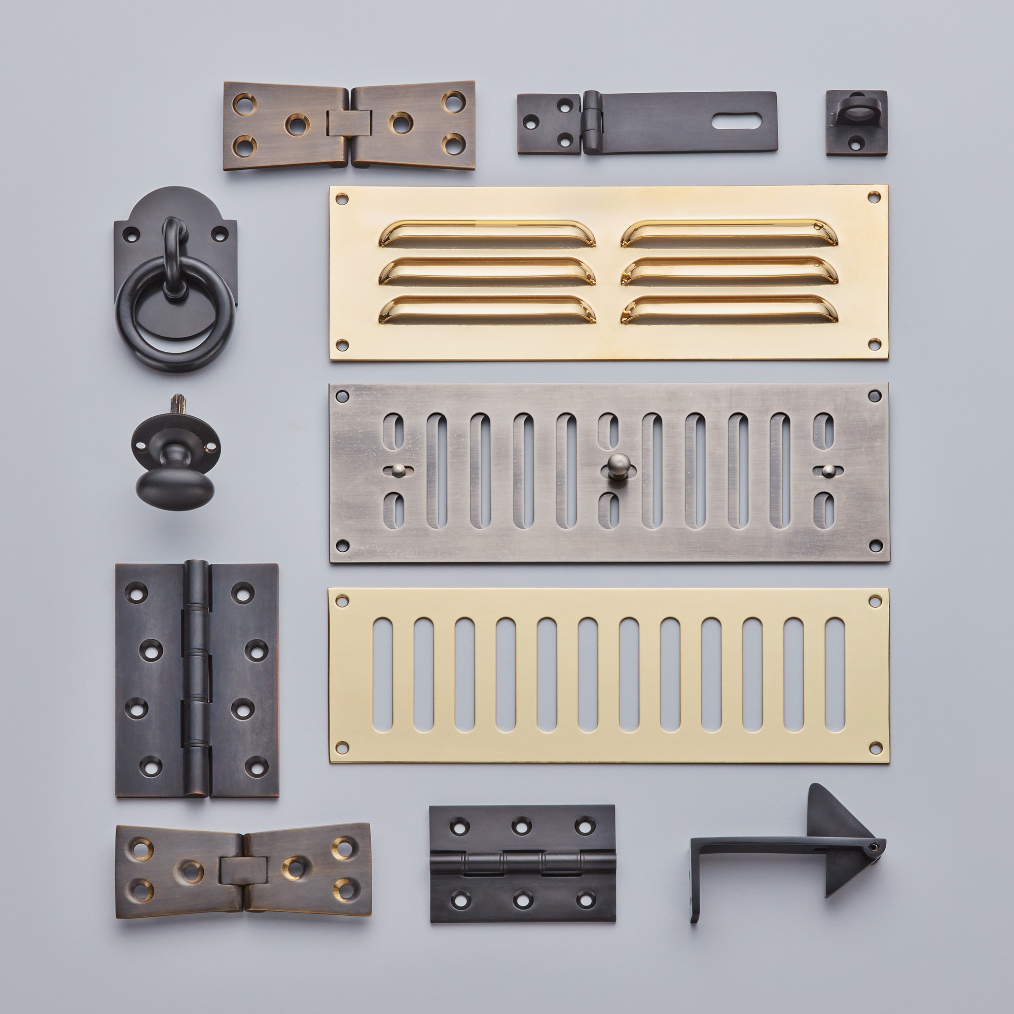 Hinges, Vents, and Further Products