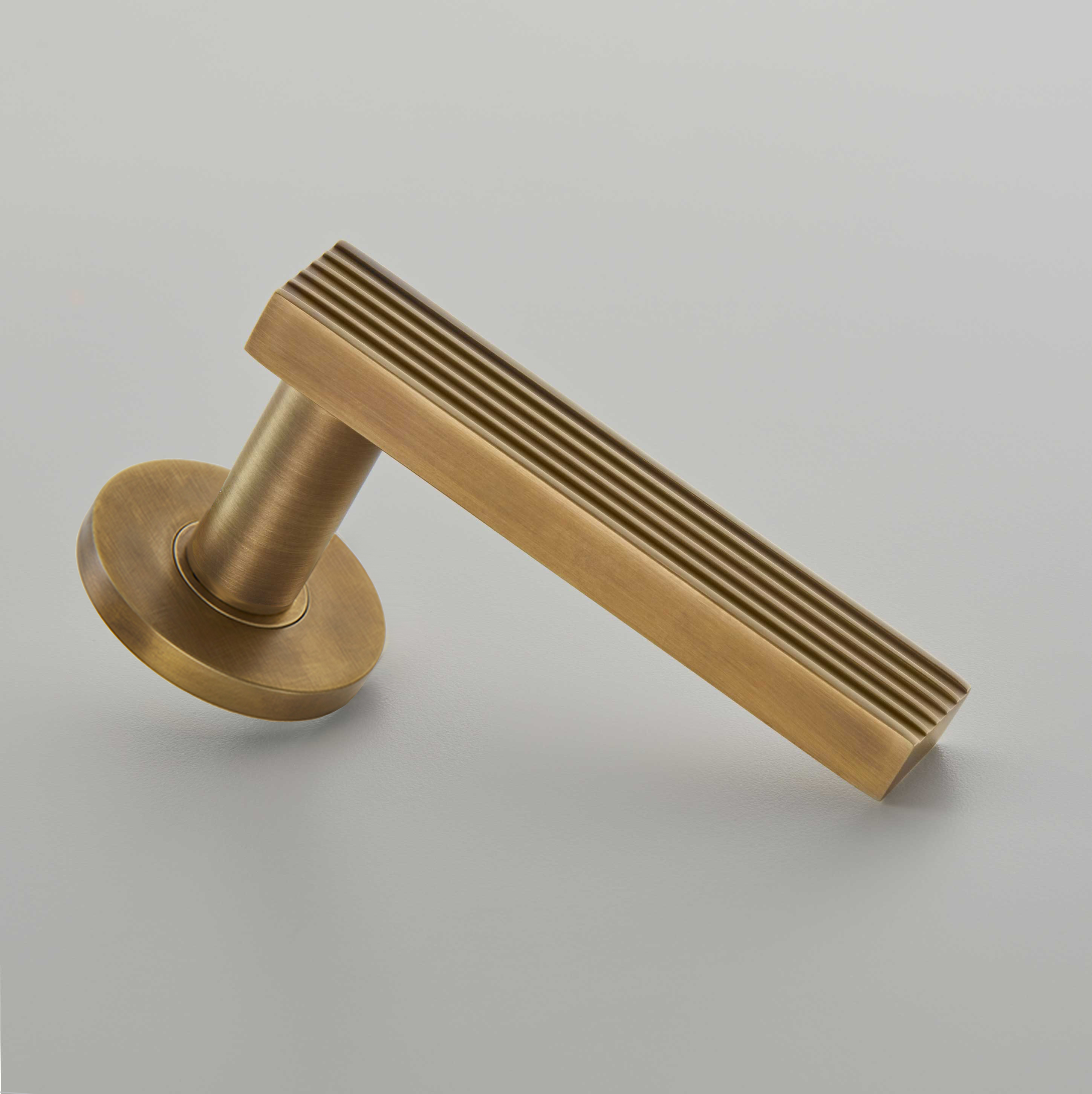 Icon Door Handle on Covered Rose