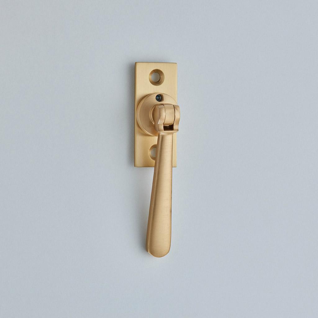 Lockable Window Espagnolette Handle – Straight