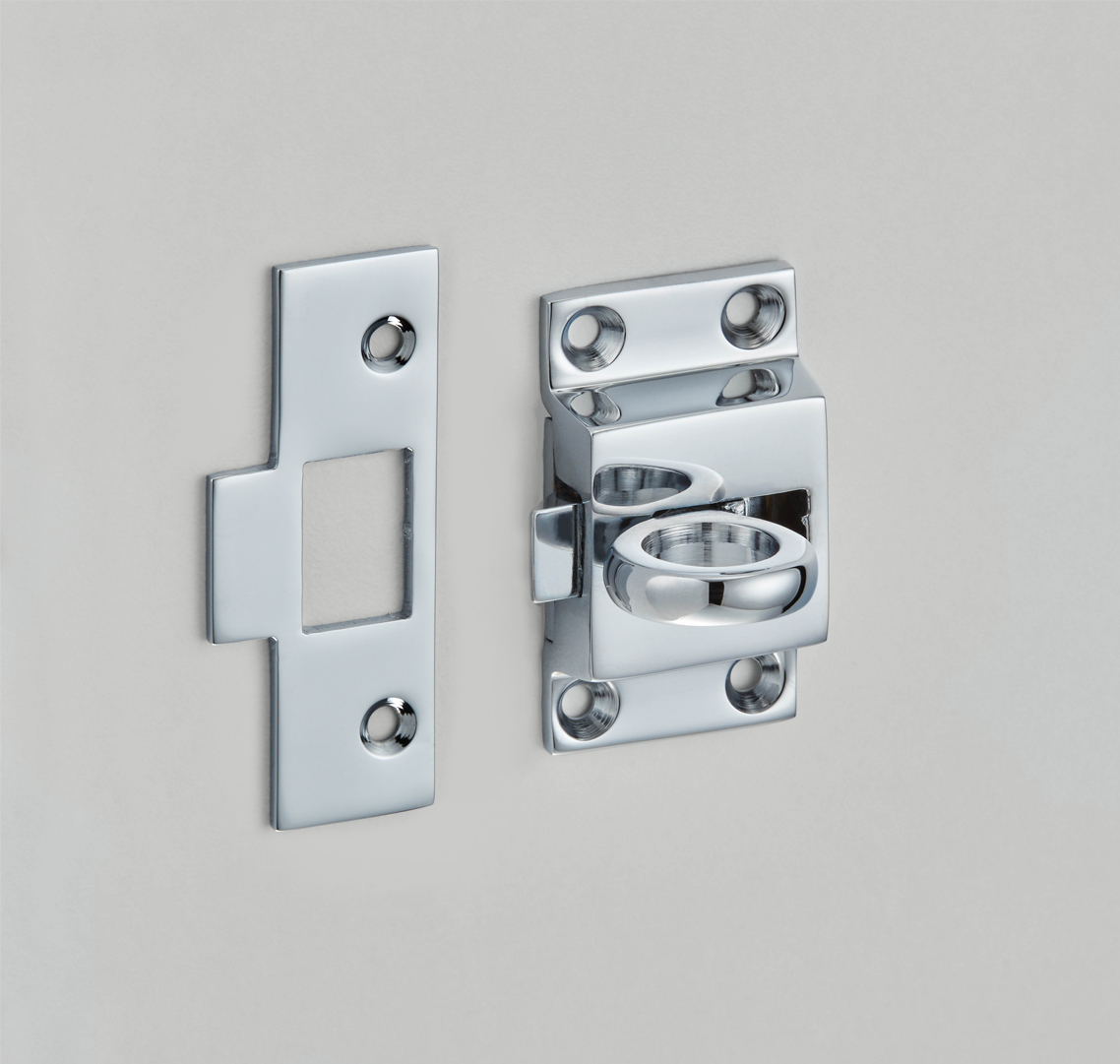 Fanlight Catch with Mortice Plate