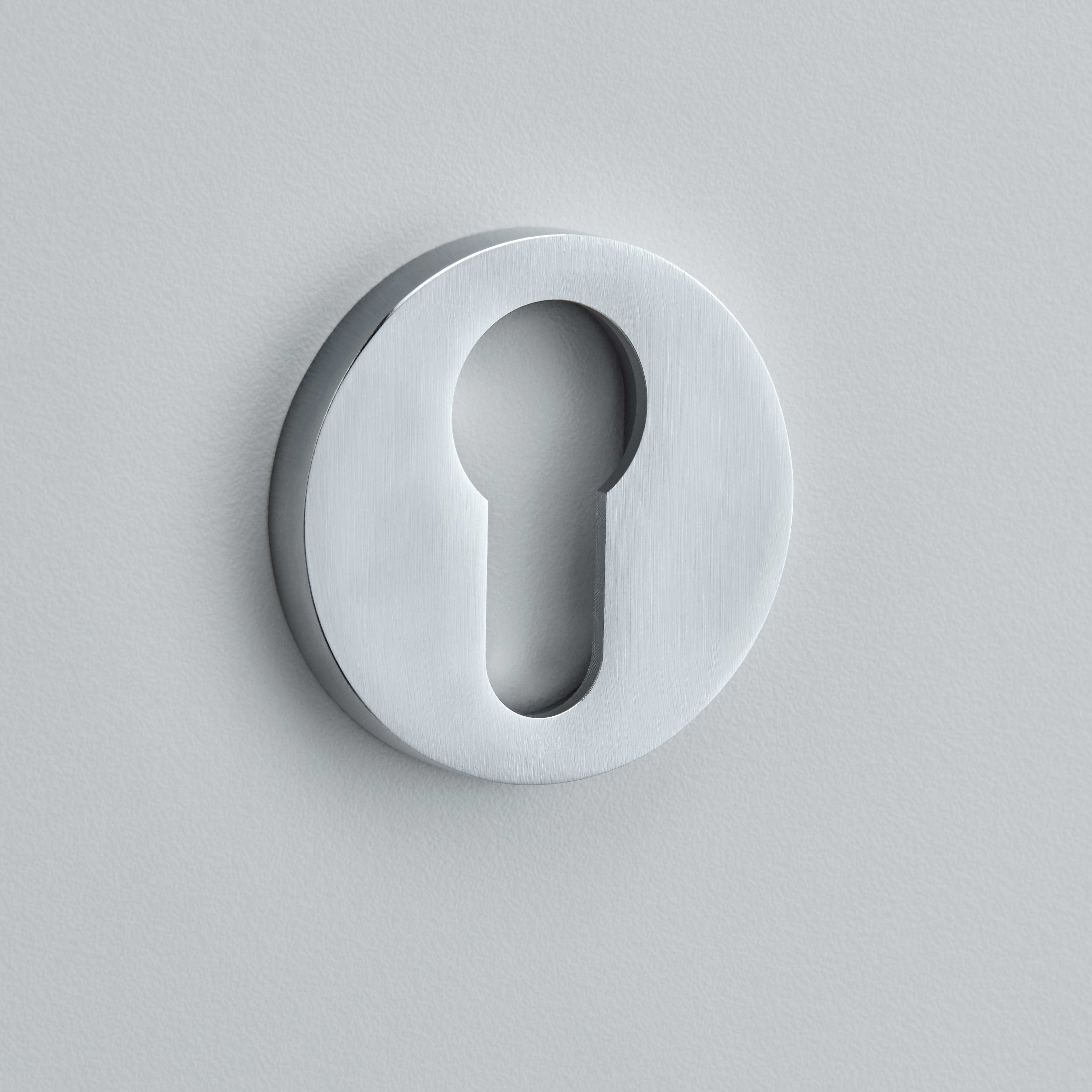 Round Plain Escutcheon