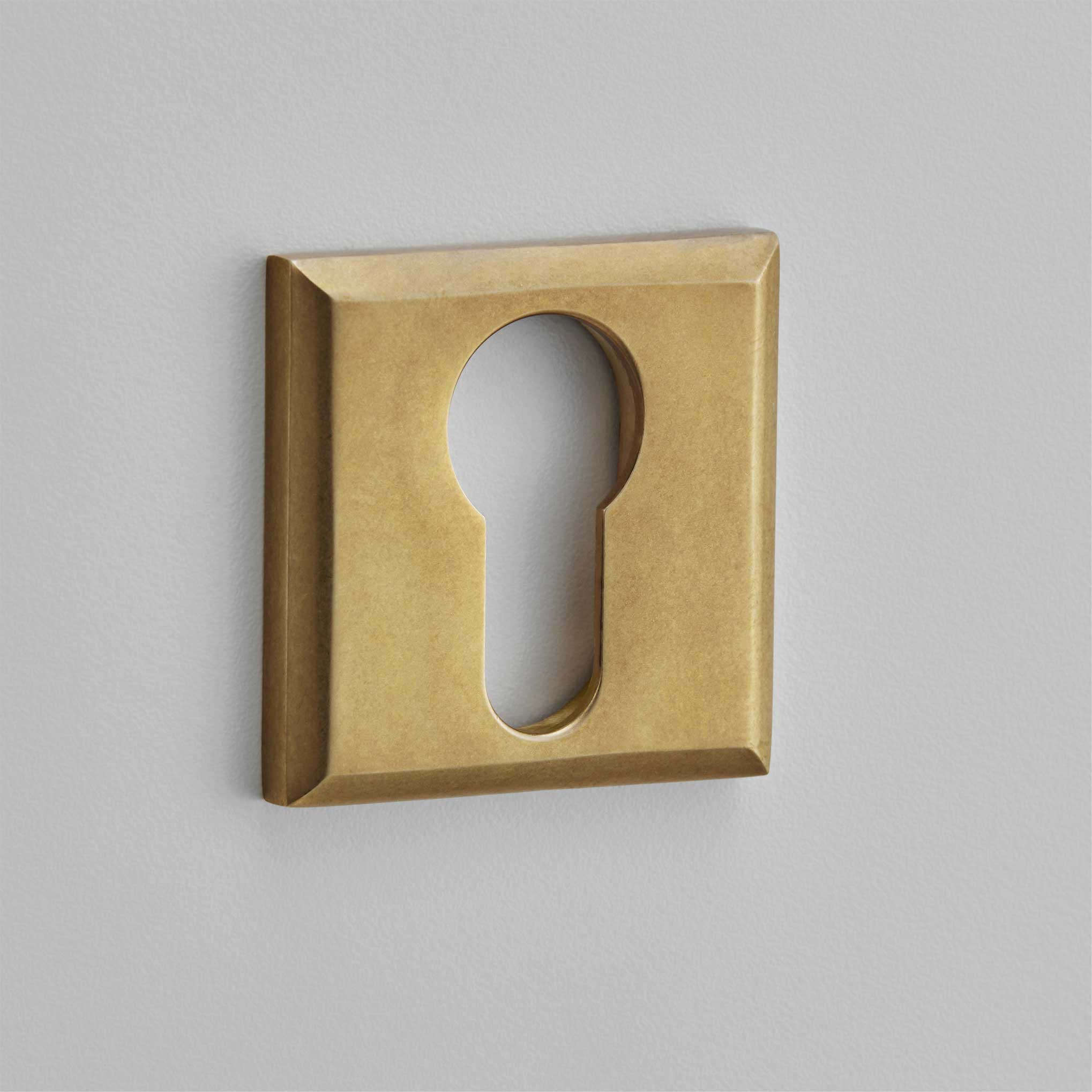 Square Pillow Escutcheon