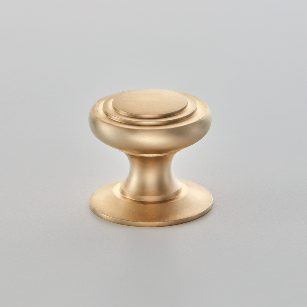 Stepped Cushion Cabinet Knob