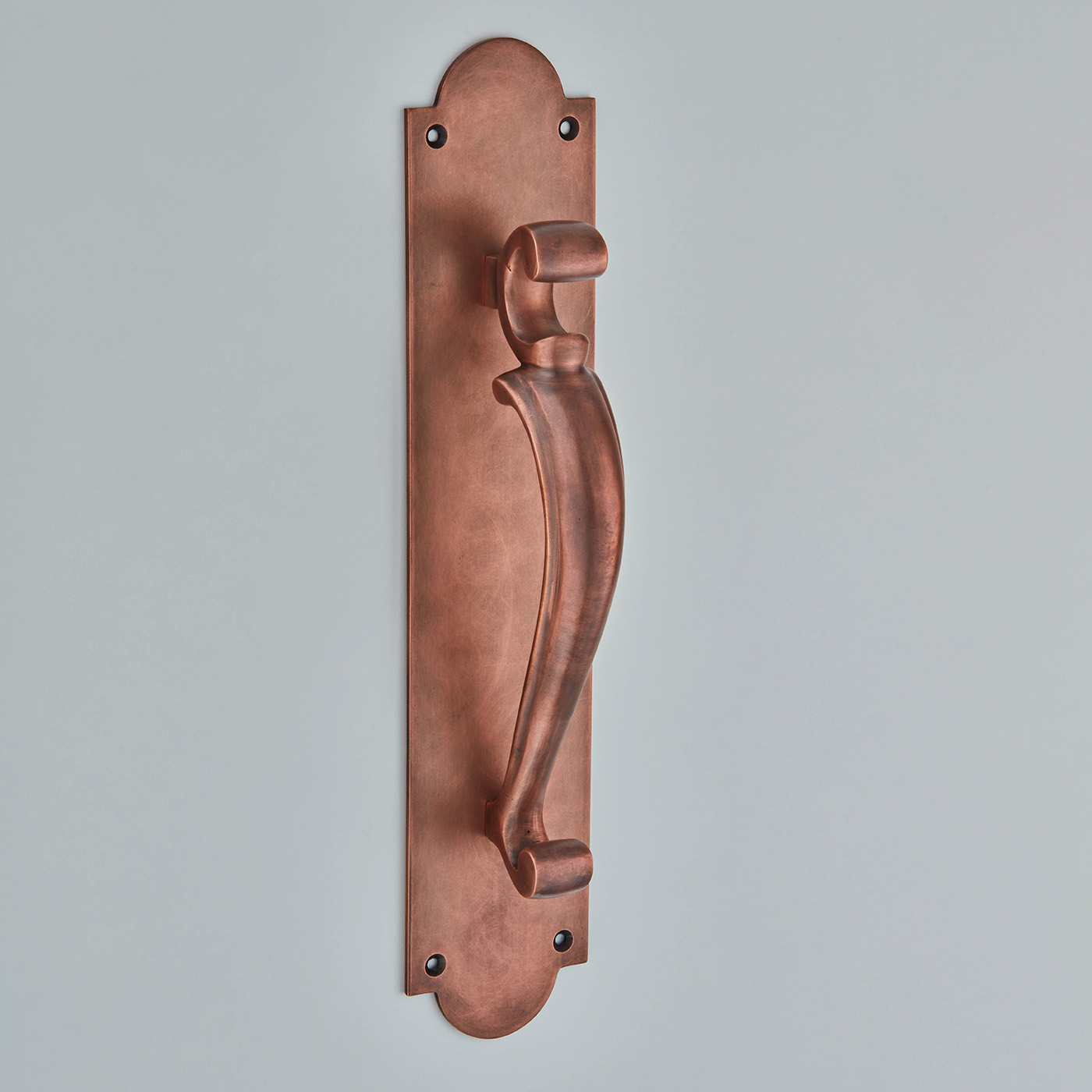 Doctor's Pull Handle On Plate