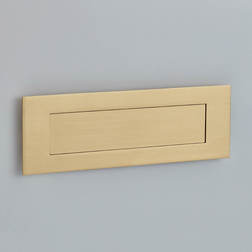 Flush Letter Plate