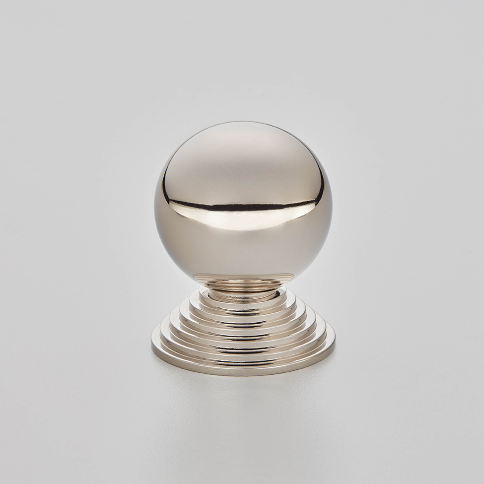 Ball and Step Cabinet Knob
