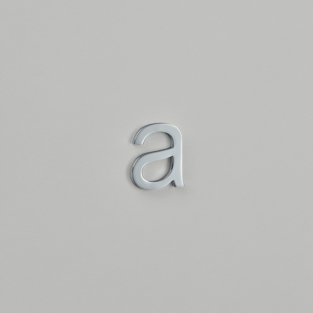 Arial Font Letter