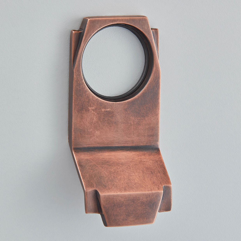 Art Deco Cylinder Pull