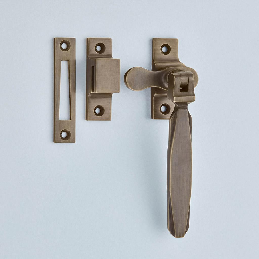 Art Deco Casement Fastener – Locking