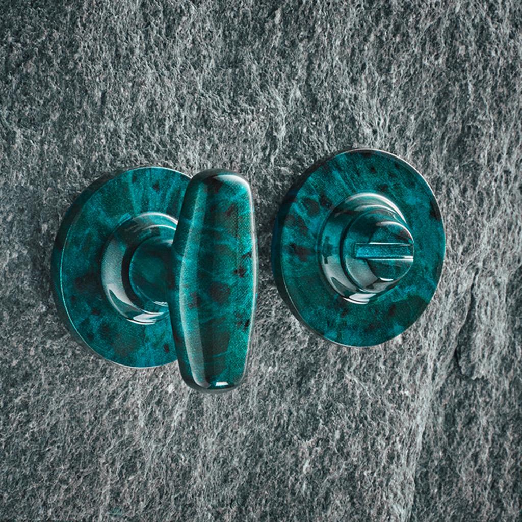 Mineral Bathroom Turn on Covered Rose - Jade Gloss