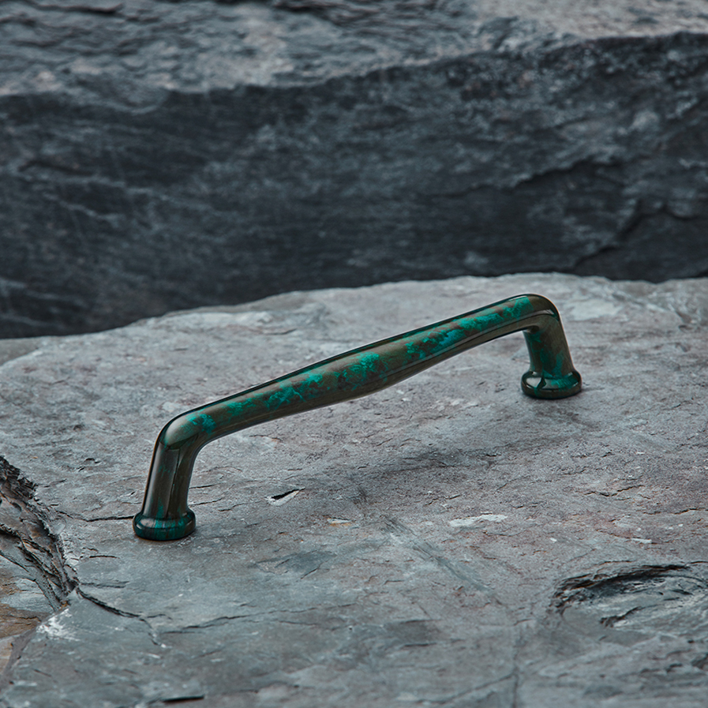 Mineral Cabinet Handle - Jade Gloss
